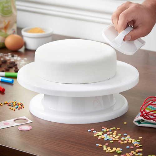 سینی گردان کیک و شیرینی پزی