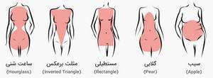 بدن خانم ها و ویژگی منحصر به فرد آن