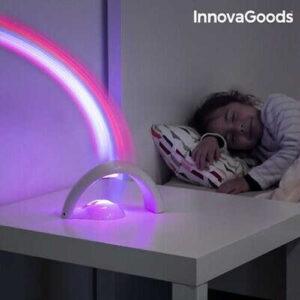 Rainbow LED Childrens Projector Sweet Dreams Kids Sleep