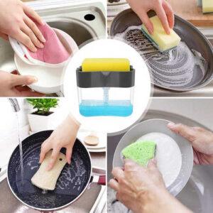 جا مایع ظرفشویی پمپی
