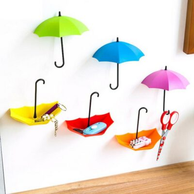 آویز دیواری چتر بسته 2 عددی